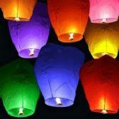 40 of Colorful Sky Lantern