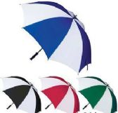 24 of Two-Toned Golf Umbrellas