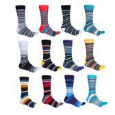 240 of Alberto Cardinali Mens Pattern Dress Socks