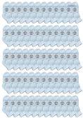 120 of Yacht & Smith Wholesale Bulk Kids Mid Ankle Socks, Cotton Sport Athletic Ankle Socks - White - 120 Packs