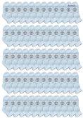 60 of Yacht & Smith Wholesale Bulk Kids Mid Ankle Socks, Cotton Sport Athletic Ankle Socks - White - 60 Packs