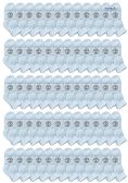 72 of Yacht & Smith Wholesale Bulk Kids Mid Ankle Socks, Cotton Sport Athletic Ankle Socks - White - 72 Packs