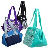"""24 of 10"""" Inch Insulated Triangle Frame Insulated Cooler In 4 Assorted Colors"""