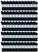 60 of Yacht & Smith Wholesale Bulk Womens Crew Socks, Cotton Sport Athletic Socks - Black - 60 Packs