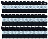 36 of Yacht & Smith Wholesale Bulk Womens Crew Socks, Cotton Sport Athletic Socks - Black - 36 Packs