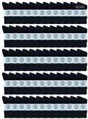 130 of Yacht & Smith Wholesale Bulk Womens Crew Socks, Cotton Sport Athletic Socks - Black - 120 Packs