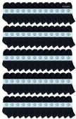 240 of Yacht & Smith Kids Cotton Quarter Ankle Socks In Black Size 4-6