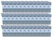 36 of Yacht & Smith Kids Premium Cotton Crew Socks Gray Size 6-8