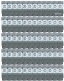 60 of Yacht & Smith Wholeasle Womens Tube Socks, Womens Cotton Referee Sport Socks - 9-11 - Gray - 60 Packs