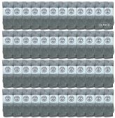 48 of Yacht & Smith Wholeasle Womens Tube Socks, Womens Cotton Referee Sport Socks - 9-11 - Gray - 48 Packs