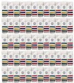 240 of Yacht & Smith Men's Cotton Tube Socks, Referee Style, Size 10-13 White With Stripes