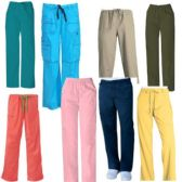 24 of Scrub Pants Assorted Colors