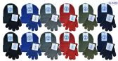 24 of Yacht & Smith Wholesale Kids Beanie and Glove Sets (Beanie Glove Set, 24)