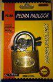 72 of 38MM Brass Padlock In Blister Card