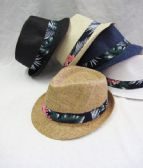 36 of Palm Tree Fedora Hat