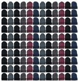 144 of Yacht & Smith Mens Womens Warm Winter Hats in Assorted Colors, Mens Womens Unisex (144 Pairs Assorted)