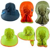 24 of Legionnaires Hat [High Visability] Solid Color with Mesh Flap