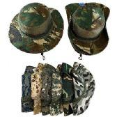 24 of Floppy Boonie Hat (Digital/Army Camo) Mesh Sides