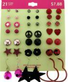 36 of Hypo allergenic earrings