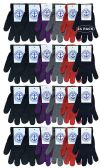 24 of Yacht & Smith Mens Womens, Warm And Stretchy Winter Gloves (24 Pairs Assorted)