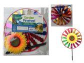 48 of 11.5'' Round Sunflower Wind Spinner