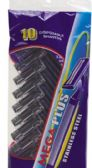 120 of 10 Pack Disposable Twin Blade Man Razors Stainless Steel