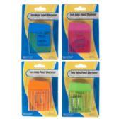 144 of 2 Hole Pencil Sharpener W/bonus Mini Sharpener