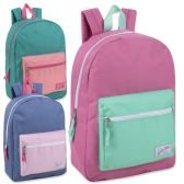 24 of Urban Sport 17 Inch Girls Color Block Backpack