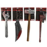32 of 4 Assorted Bloody Costume Weapon Accessories