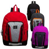 """24 of 17"""" Sport Backpack in 4 Assorted Colors"""