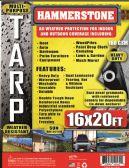 4 of 160 GSM Heavy Duty TARPS