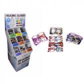 360 of Reading Glasses with Display Rack