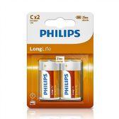 24 of Super Heavy Duty C Philips Battery