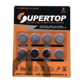 72 of Assorted Button Cell Batteries 8 pcs