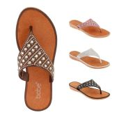 40 of Women Rhinestone Fashion Flip Flops