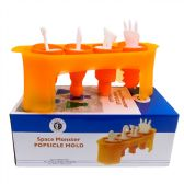 16 of Space Monster Popsicle Mold