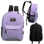 24 of 17 Inch Classic Bulk Backpacks In Purple