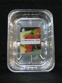 50 of Large Aluminum Rectangular Tray