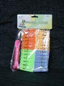 36 of 24 Piece Laundry Peg Rope Set