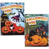 96 of 2asst Halloween Coloring Book In Floor Display