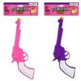48 of 12in Cowgirl Gun W/click Sound