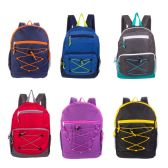 "24 of 17"" Mixed Backpack Assortment in 12 Assorted Styles"