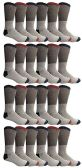 24 of Yacht & Smith Mens Cotton Thermal Crew Socks, Cold Weather Boot Sock Shoe Size 8-12