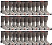 36 of Yacht & Smith Mens Cotton Thermal Crew Socks, Cold Weather Boot Sock Shoe Size 8-12