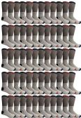 60 of Yacht & Smith Mens Cotton Thermal Crew Socks, Cold Weather Boot Sock Shoe Size 8-12