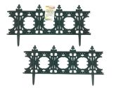 """72 of 12"""" X 24"""" L Green Connecting Garden Fence"""