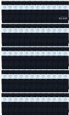 240 of Yacht & Smith Men's 30 Inch Premium Cotton King Size Extra Long Black Tube Socks- Size 13-16