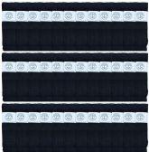 36 of Yacht & Smith Men's 30 Inch Premium Cotton King Size Extra Long Black Tube Socks- Size 13-16