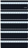 72 of Yacht & Smith Men's 30 Inch Premium Cotton King Size Extra Long Black Tube Socks- Size 13-16