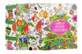 48 of ADULT COLORING BOOK CHRISTMAS